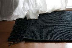 Our all natural Ribbed jute entrance mat in Charcoal - view + purchase from  http://nodirugs.com/product/ribbed-jute-charcoal/