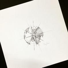nautical world compass