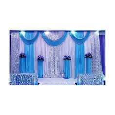 LB Wedding Stage, Birthday Party,Event,Christmas,Romantic Decorations... ($219) ❤ liked on Polyvore featuring home and home decor