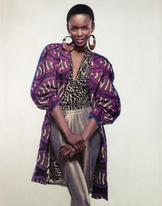Flaviana Matata, #Tanzanian supermodel