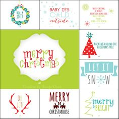 10 Free Christmas Card Prints from LostBumblebee