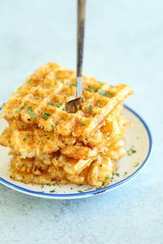 Tater Tot Waffles are HEAVEN.
