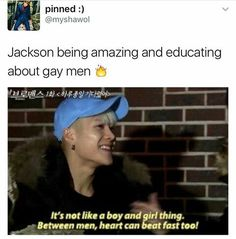 Jackson is the gayest thing I've ever seen