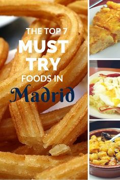 The top 7 MUST try foods in Madrid!