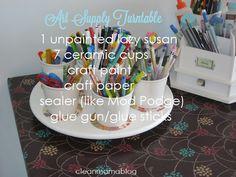 Art supply turntable crafting-corner-all