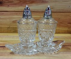 Vintage Salt And Pepper Shakers by ArtMaxAntiques on Etsy