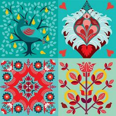 card designs by Equilibrium Art