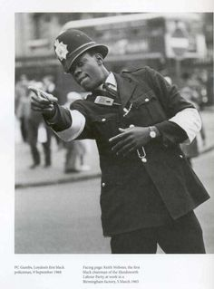 P.C. Gumbs  London's first black policeman - 1968