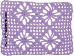 Cómo tejer el punto araña en crochet