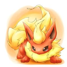 Pokemon - Flareon Cody wants to be this for this Halloween....OI!