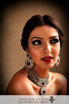 Jewelry is by Maria B (Pakistani fashion designer) and I absolutely love it!