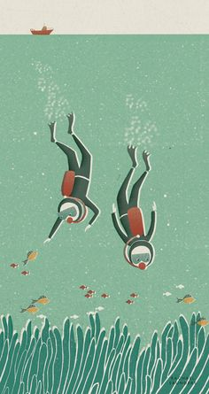Rachael Saunders, diving, under the sea, fish,