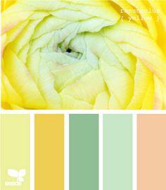Exterior paint schemes yellow color pallets Ideas for 2019 Scheme Color, Colour Schemes, Color Combos, Color Patterns, Paleta Pantone, Palette Design, Complimentary Colors, The Design Files, Design Seeds