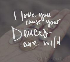 Deuces Are Wild by Aerosmith   Handwritten Song Lyrics