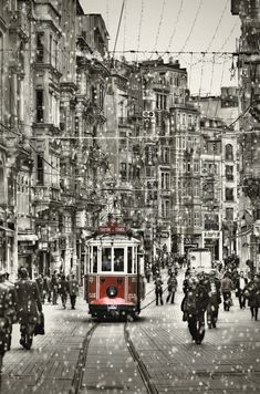 Take the Red Tram, an Istanbul classic!