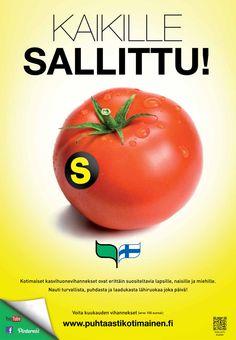 Puhtaasti kotimainen - Kaikille sallittu! 2013 Vegetables, Food, Essen, Vegetable Recipes, Meals, Yemek, Veggies, Eten