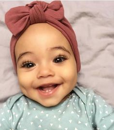 Mom Memes Discover Mauve Pink Hat (soft) w/ Top Knot - baby turban hat newborn hat baby hat infant hat hospital hat baby bow hat turbans for tots So Cute Baby, Cute Mixed Babies, Pretty Baby, Cute Kids, Adorable Babies, Really Cute Babies, Cutest Babies, Baby Turban, Turban Hut