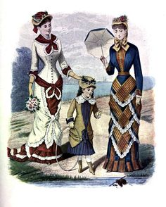 Fashion Plate 1880 | Flickr - Photo Sharing!