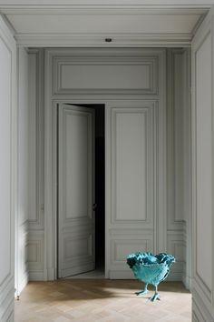 : An apartment in Paris signed Joseph Dirand.: An apartment in Paris signed Joseph Dirand….Entirely redesigned by Joseph Dir - Door Design, House Design, Casa Milano, Joseph Dirand, Classic Doors, Interior Decorating, Interior Design, Ship Lap Walls, Interior Barn Doors