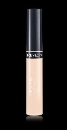 "Revlon® ColorStay™ Concealer  ""The concealer sets to a soft, dimensional matte finish that doesn't look the least bit dry or cakey. It's surprisingly skin-like and yet you get medium to nearly full coverage. It's a winner for concealing everything from dark circles to brown spots and red marks from breakouts."""