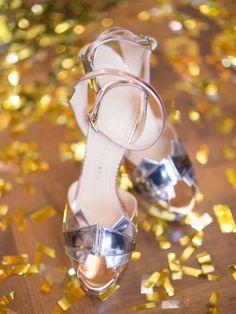 Charlotte Olympia. Glamorous Great Gatsby Wedding Inspiration