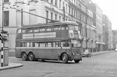 London trolleybus.  Certainly remembe tese...especially the 557 route.