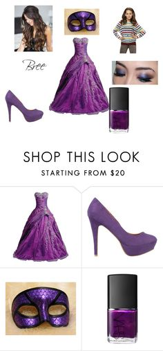 """""""Hayden's cinderella story(Bree's outfit.)"""" by giraffe-lovermmr ❤ liked on Polyvore featuring FairOnly, SPURR, Lab and NARS Cosmetics"""