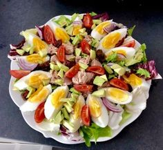Cobb Salad, Grilling, Salads, Health Fitness, Appetizers, Food And Drink, Menu, Cooking Recipes, Lunch