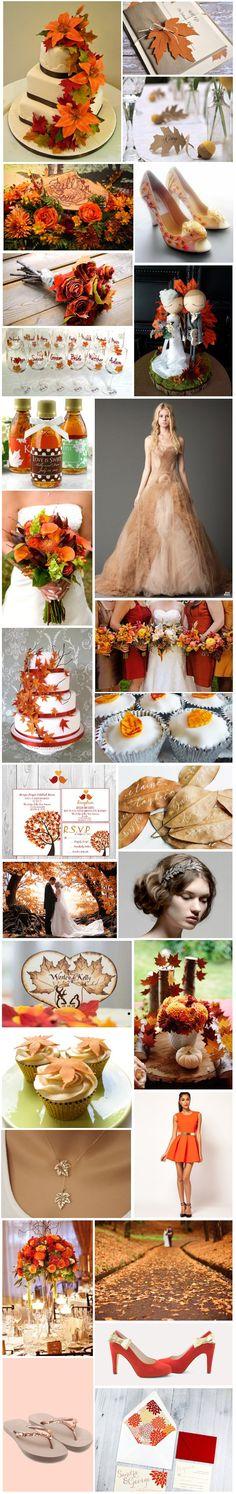 [Inspiration] Mariage d'automne