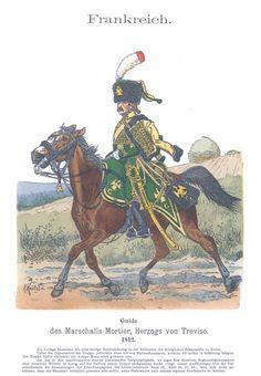 Band X #51.- Frankreich. Guide des Marschalls Mortier. 1812.