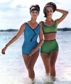 Sixties Swimwear