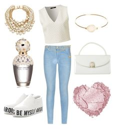 """""""white veri casual"""" by emma-lorena on Polyvore featuring 7 For All Mankind, Judith Leiber, Kate Spade, Marc by Marc Jacobs, Chanel and Marc Jacobs"""