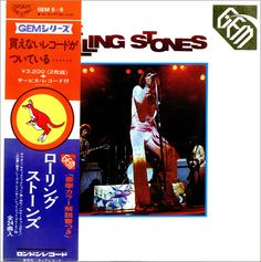 For Sale - Rolling Stones Gem Japan  2-LP vinyl record set (Double Album) - See this and 250,000 other rare & vintage vinyl records, singles, LPs & CDs at http://eil.com