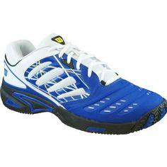 Wilson Men`s Tour Vision II Tennis Shoes Sport Royal/White/Black 8 Blue Wilson. $69.95