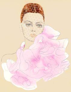 Giambattista Valli, by Teri Chung #fashion #illustration