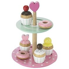 I know this is a child's toy but I would love it as a display for my bakery!