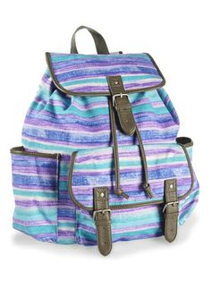 The perfect boho backpack for the beach!