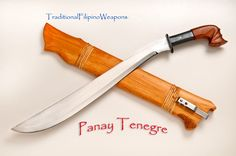 Filipino Panay Tenegre Sword