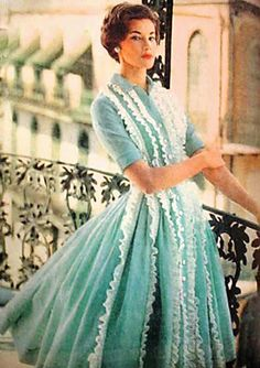 This dress!!! 1950s.