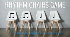 Rhythm Chairs Game. The Yellow Brick Road.
