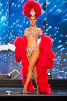Miss Universo 2016: Las candidatas en traje típico Vivelohoy