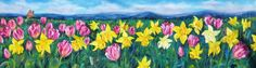 'Spring' oil on canvas By Amanda Wright