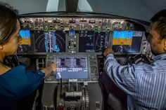 Boeing selected touch screens for the flightdeck of 777X
