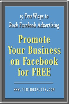 Want to promote your small business on Facebook, but don't have the budget?…