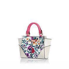 Girls white printed winged tote bag £15.00 #RIkidswear #riverisland