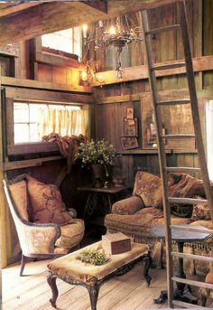 So Pretty for a rustic cabin or a lil guest house next to vacation home, room for all visitors, I know my friends would be happy staying here for a little bit!