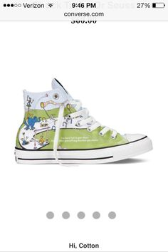 9db05ed05dd Dr. Seuss chucks. No way. These are so awesome! Awesome Converse Shoes