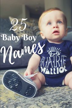 25 Baby Boy Names – Little Artsies Laven Belton Oakley Raiden Dracson Abel Samson Vincent Darren Leo Ensley London Cato Remington Noble Lenny Jax Maximilliano Kolour… Baby Boy Names Rare, Short Boy Names, Baby Boy Names Strong, Cute Boy Names, Baby Names 2018, Unisex Baby Names, Traditional Baby Boy Names, French Boys Names, Southern Boy Names