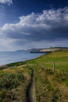 "wanderthewood: "" Swanage, Dorset, England by "" Dorset England, England And Scotland, England Uk, Places In England, No Rain, English Countryside, Beautiful Places To Visit, British Isles, Kingston"