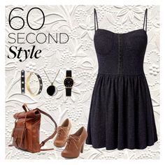 """""""60 second style contest entry"""" by vill-ain ❤ liked on Polyvore featuring Madam Rage, Carolee and Marc by Marc Jacobs"""